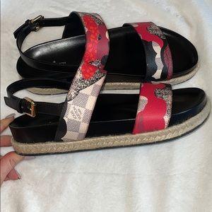 LouisVuitton Overcloud Sandals 40